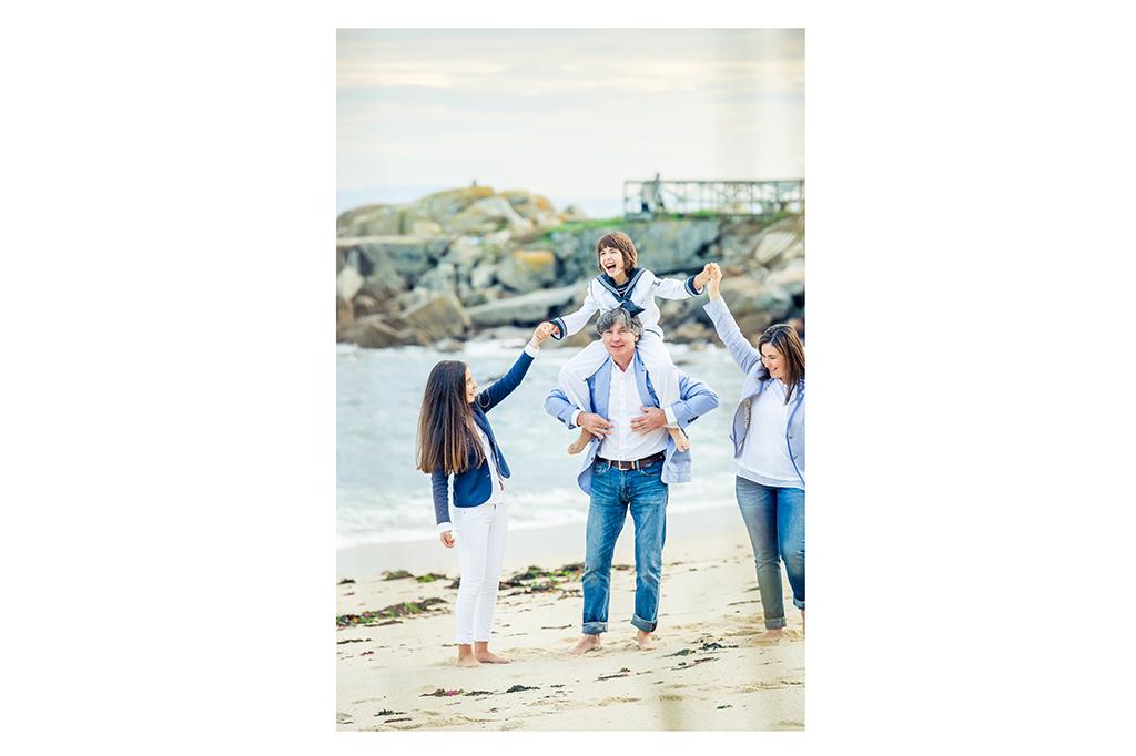Fotografía de familia en Galicia Comunión Elena Repetskaya 13