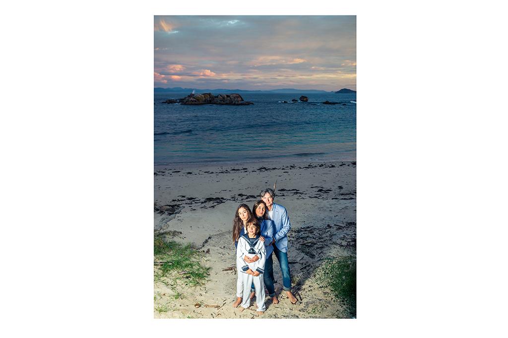 Fotografía de familia en Galicia Comunión Elena Repetskaya 8