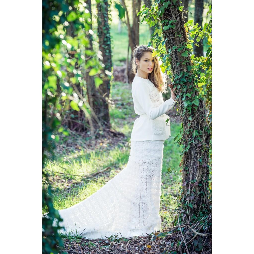 Fotografía de moda en Galicia Wedding editorial Elena Repetskaya